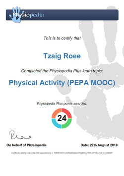 physical activity course
