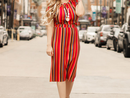 Wild Fable Pleated Two Piece