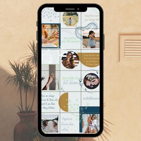 Mock Up Instagram Grid
