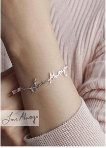 Actual Handwriting Bracelet - $36.00