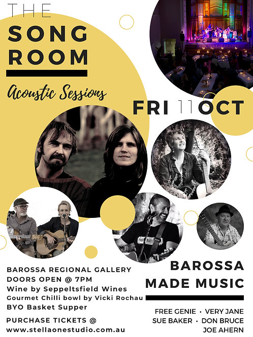 The Song Room Acoustic Sessions Concert, 11th Oct. 2019