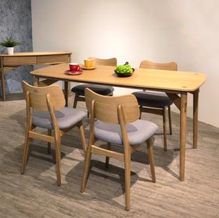 北歐原木系列餐廳組-全系列5折優惠
