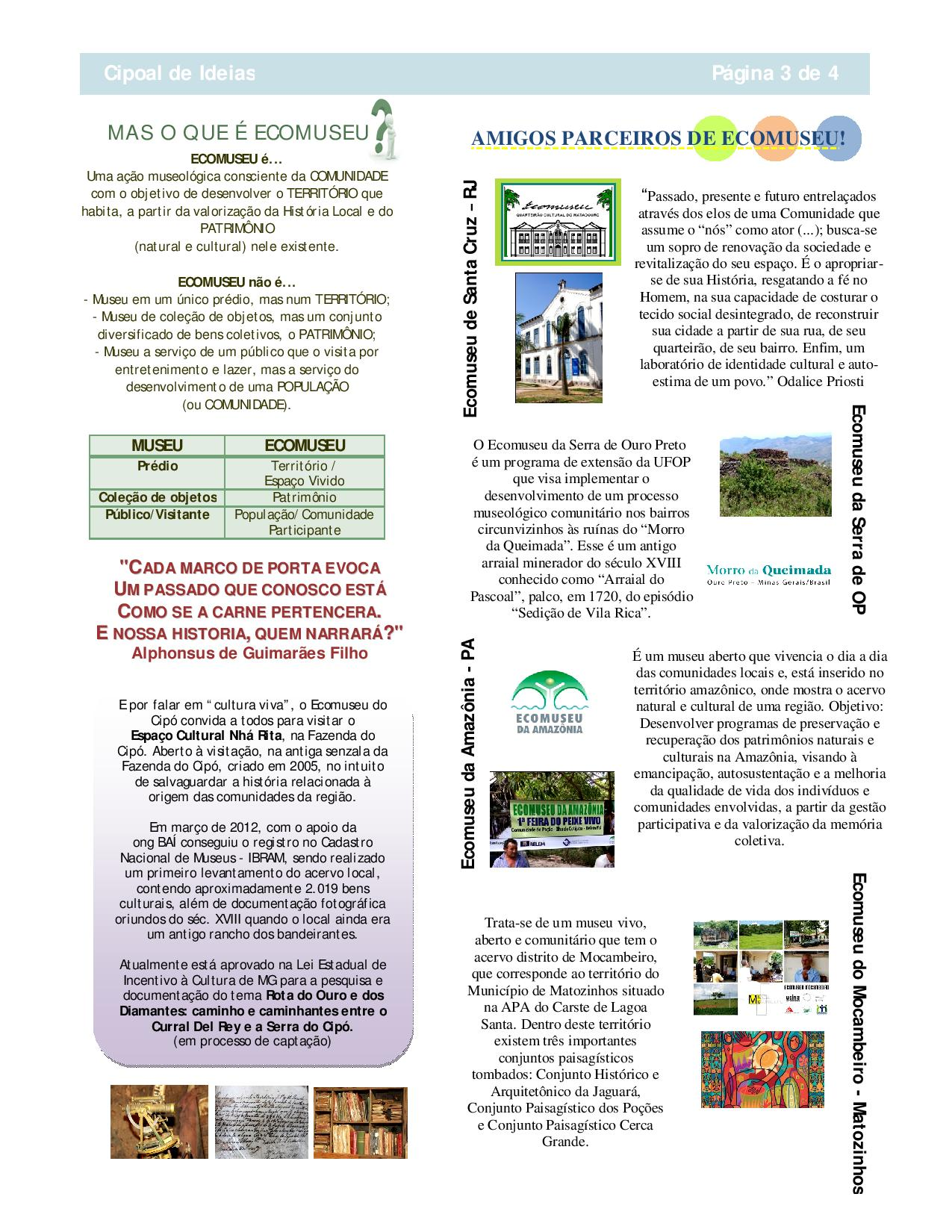 Boletim Cipoal de Ideias - Ecomuseu do Cipó-page-003