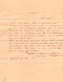 Carta de João Nogueira
