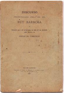 Discurso de Ruy Barbosa