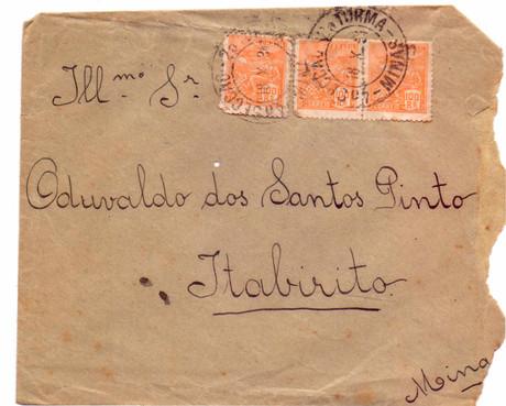 Carta ao Sr Oduvaldo dos Santos Pinto