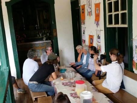 Ecomuseu do Cipó recebeu o renomado pesquisador e arqueólogo dinamarquês Eske Willerslev