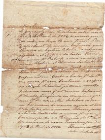 Partilha de escravos - 1854