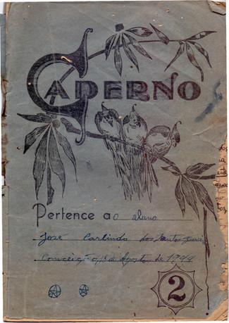 Caderno Escolar - Zé Carlindo - 1944