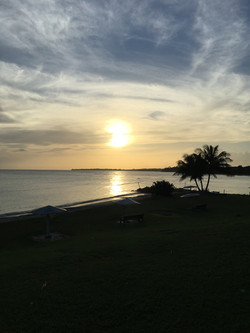 A Sunset in Tobago
