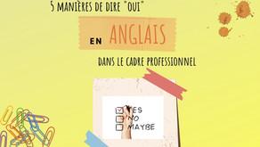 5 façons différentes de dire OUI en anglais