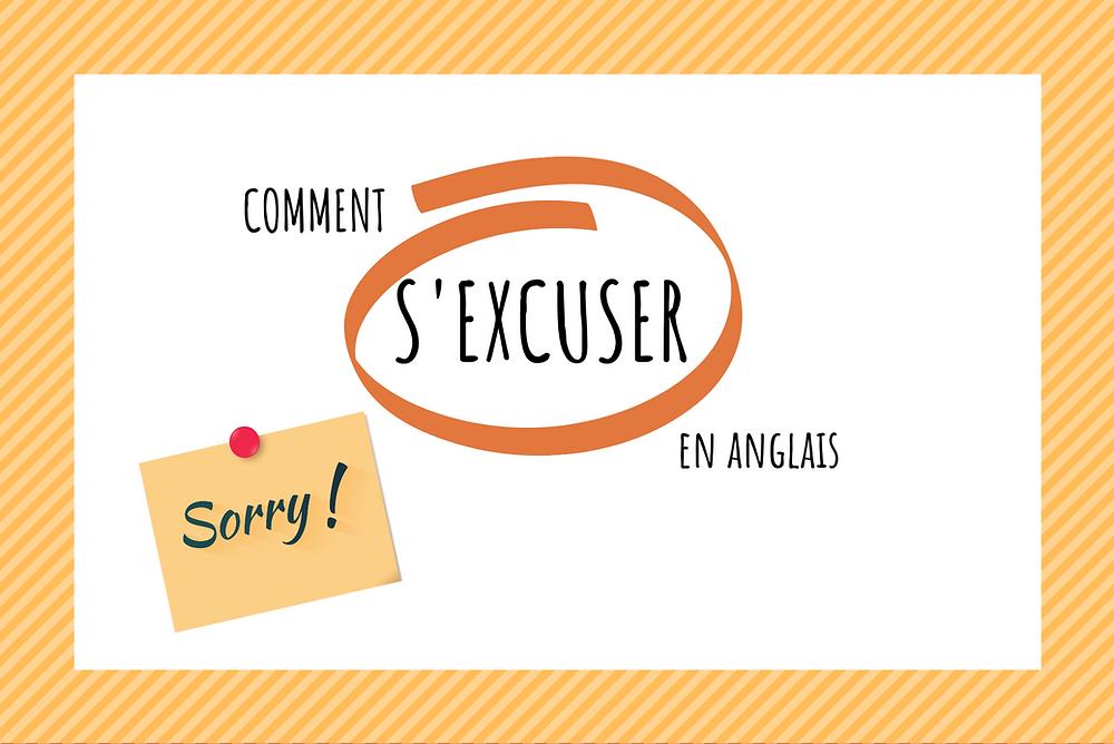 Comment s'excuser en anglais - post it sorry