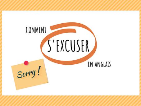 8 façons de s'excuser en anglais