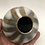 Thumbnail: Smoke fired vase 3.5 X 3.75""