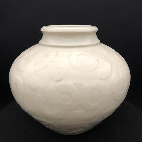 """Porcelain Vase - 5 3/4"""" x 6 1/4"""""""