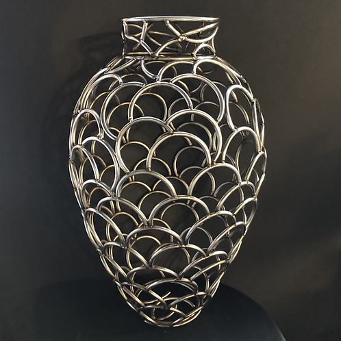 "Stainless Steel vessel - 14 3/4"" x  9 1/4"""