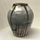 Thumbnail: Smoke fired vase 6 X 4 7/8""