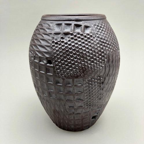 "Stoneware Vase - 6.75"" x 5.25"""