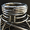 """Thumbnail: Stainless Steel vessel - 14 1/8"""" x  9 7/8"""""""