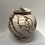 "Thumbnail: Smoked Lidded Vessel - 6 3/8"" x  5 3/4"""