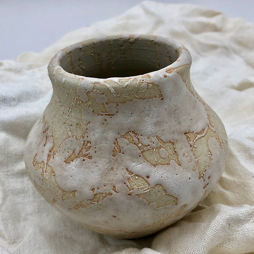 Rustic Scarred Vase