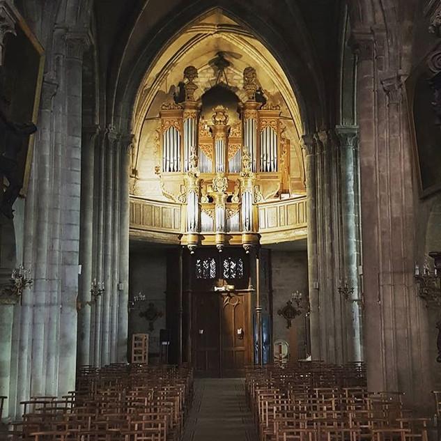 Grand Orgue Saint Nicolas de Neufchâteau