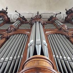 Au grand orgue de Saint Sébastien de Nan