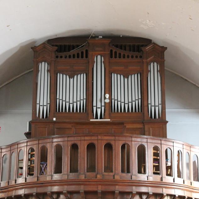 Orgue de l'église Saint Vincent de Paul à Nancy