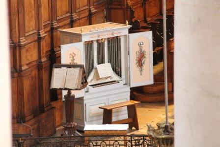 Orgue de Choeur de l'église Saint Sébastien de Neufchâteau