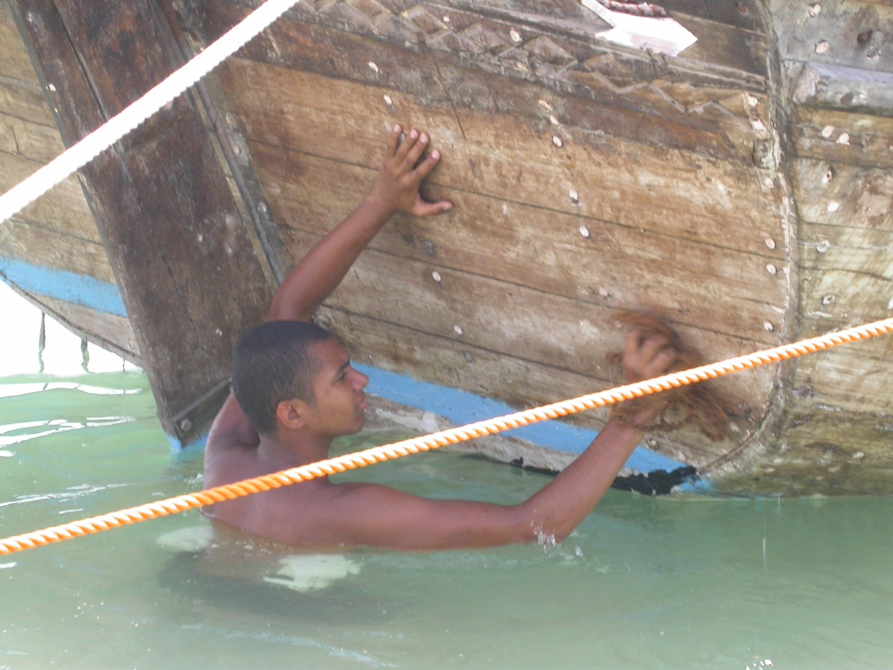 Visiting modern-day pearl divers
