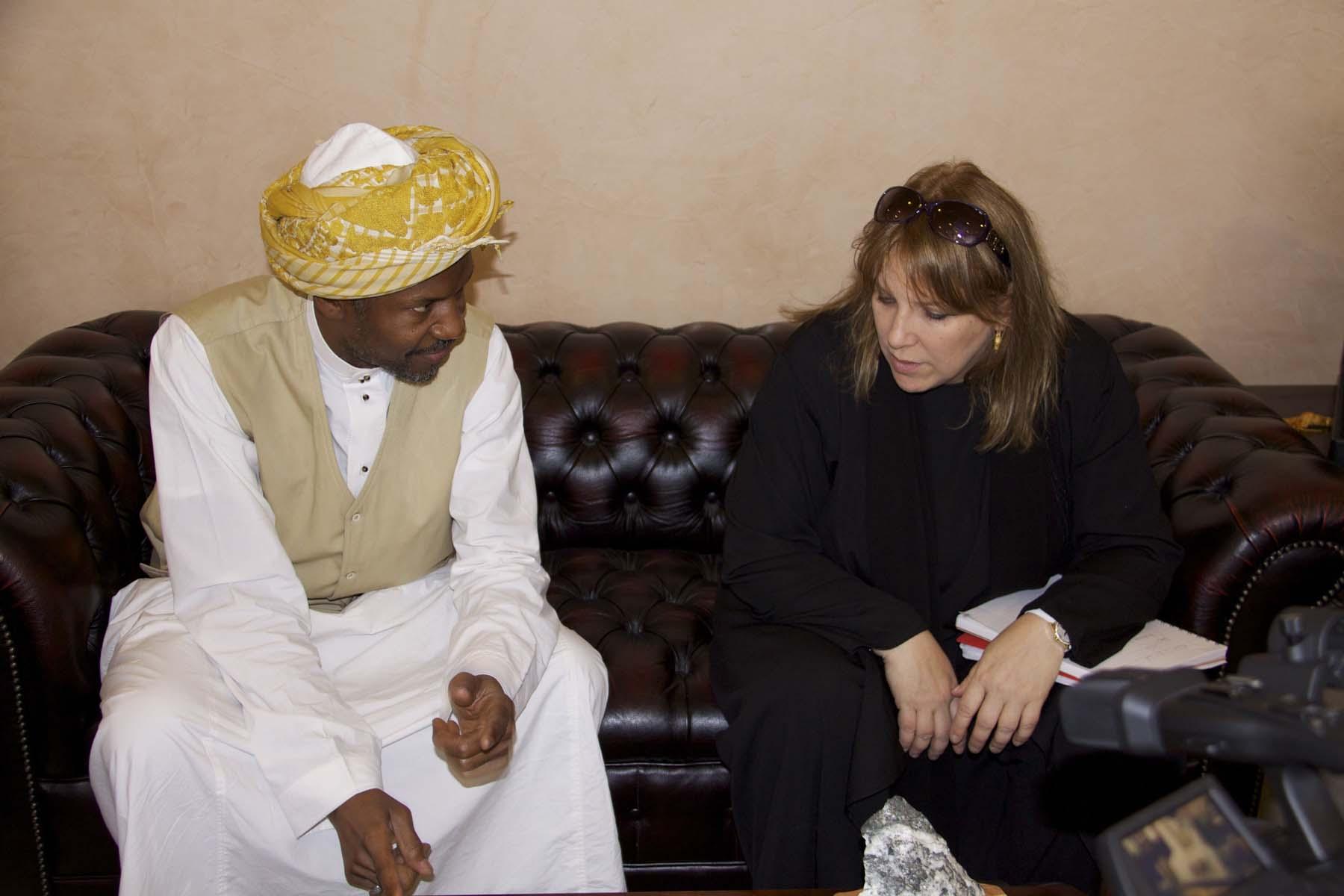 With Abdullah Abkar