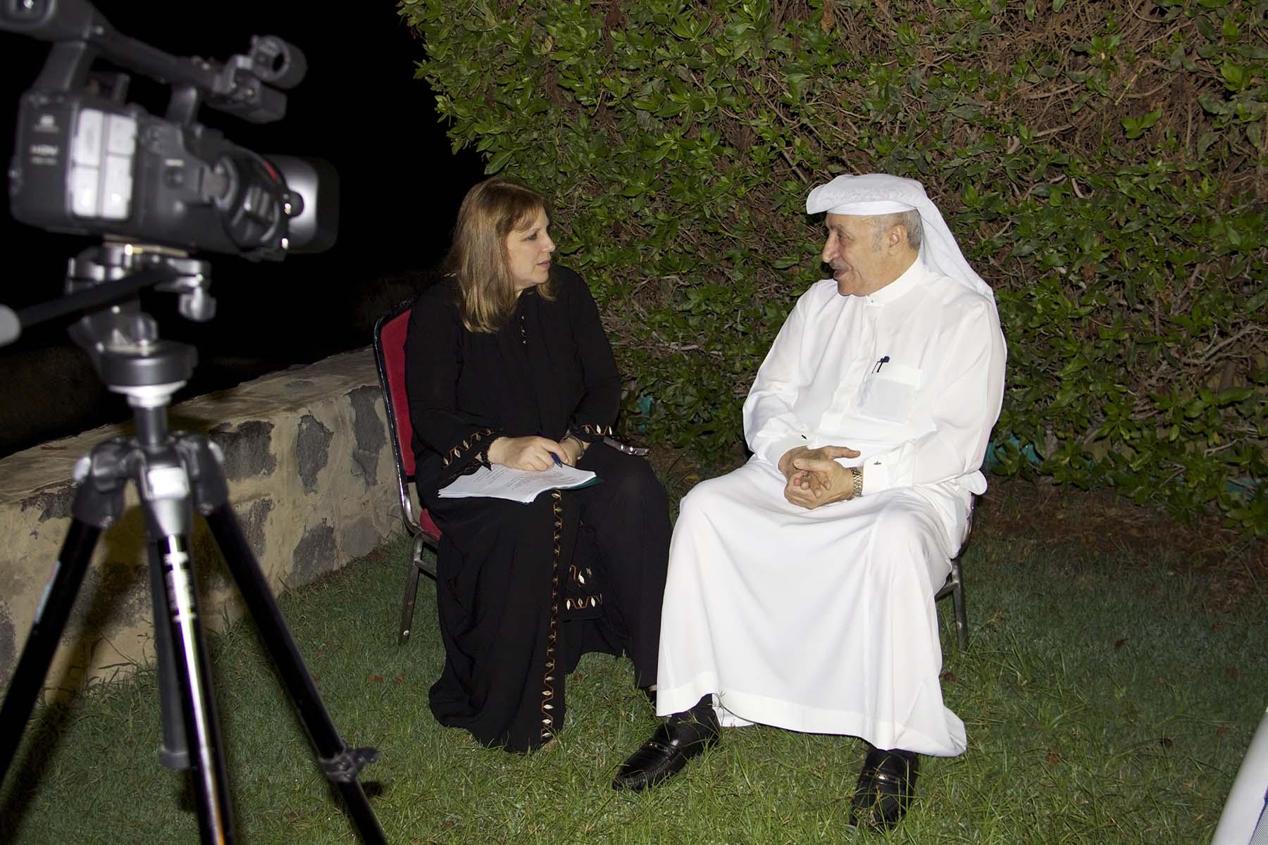 With Jamil Mahmoud