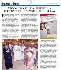 Kuwait Times Feb. 2016