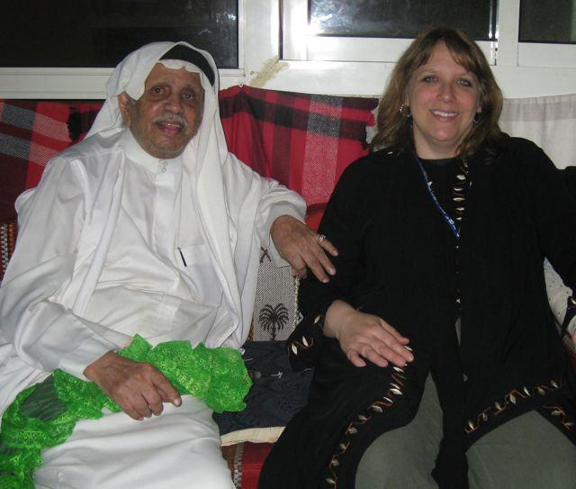 With Tariq Abdul-Hakim, Jeddah