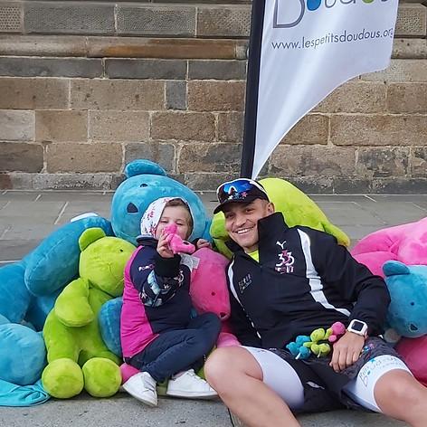 Triathlon XXXL avec Les Petits Doudous