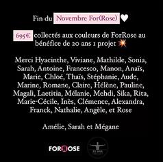 Novembre (For)Rose