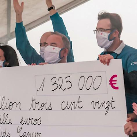 ForRose à la course Enfants sans Cancer 2020