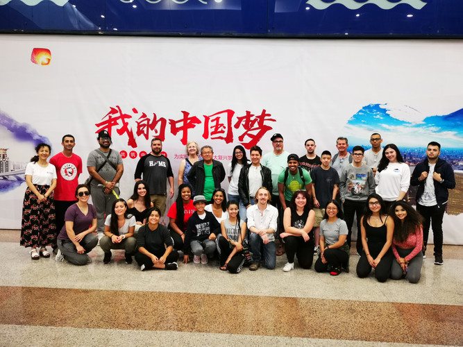 American CC China teachers