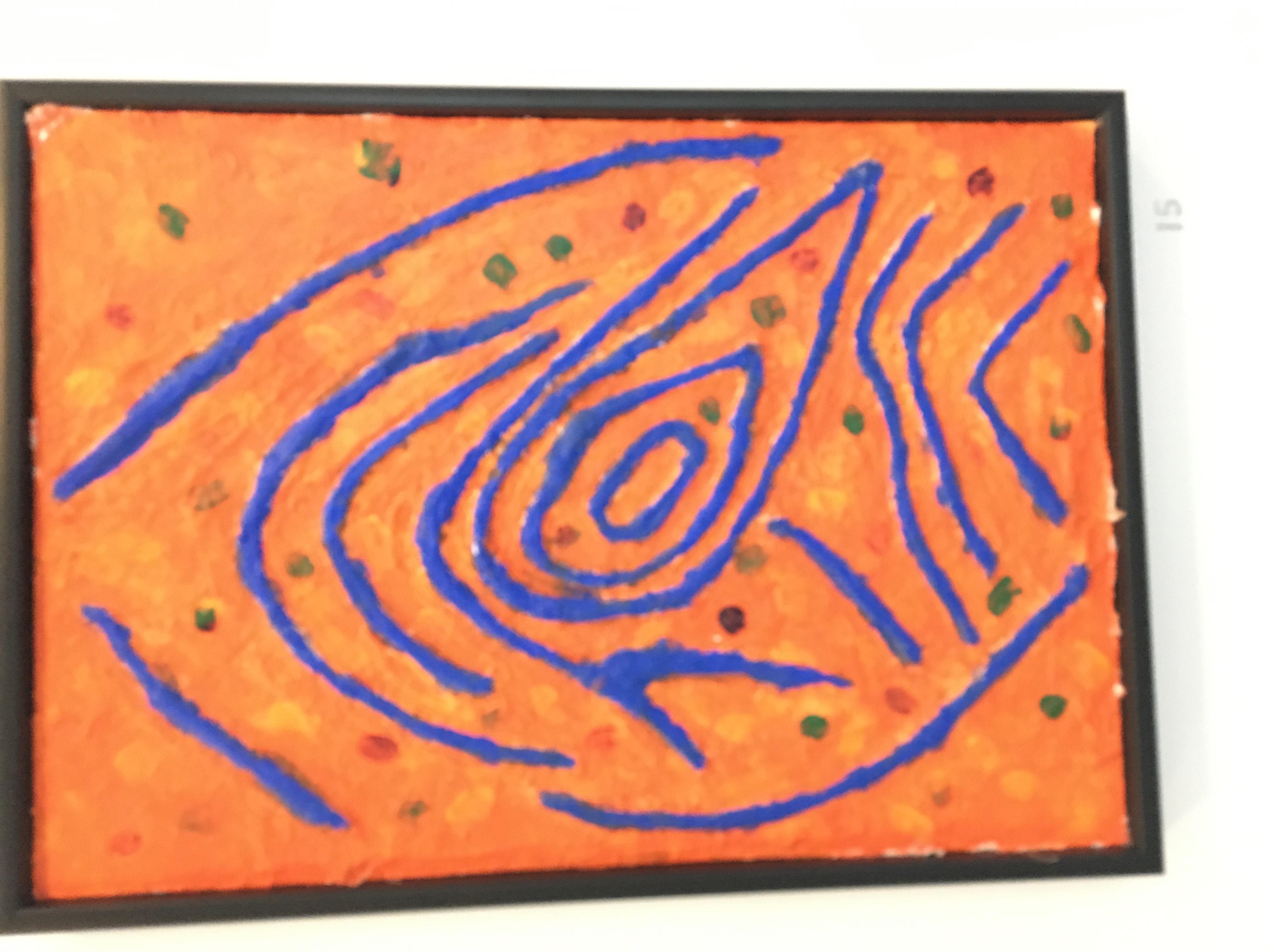 15. Fingerprint, Tom Coomber, 45.5 x 64.5 x 4, £ offers