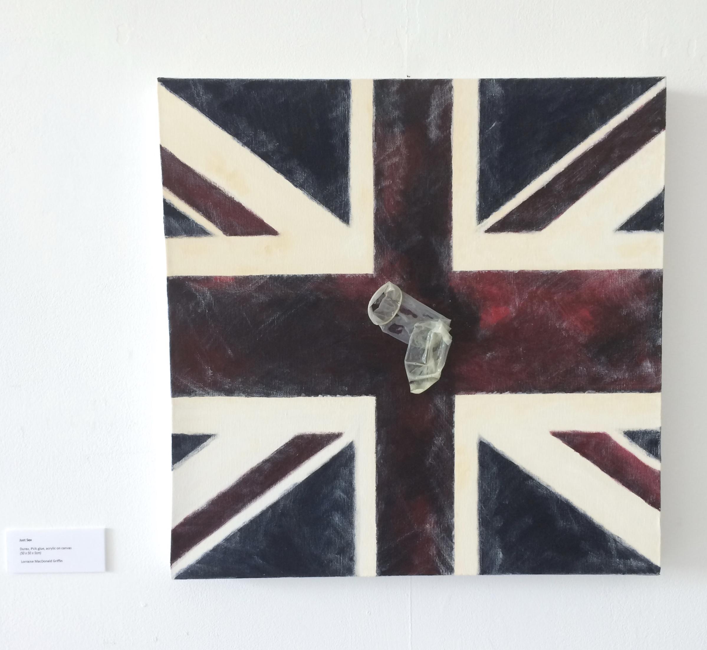 55. Just Sex, Lorraine M Griffin, 50 x 50 x 4, £80