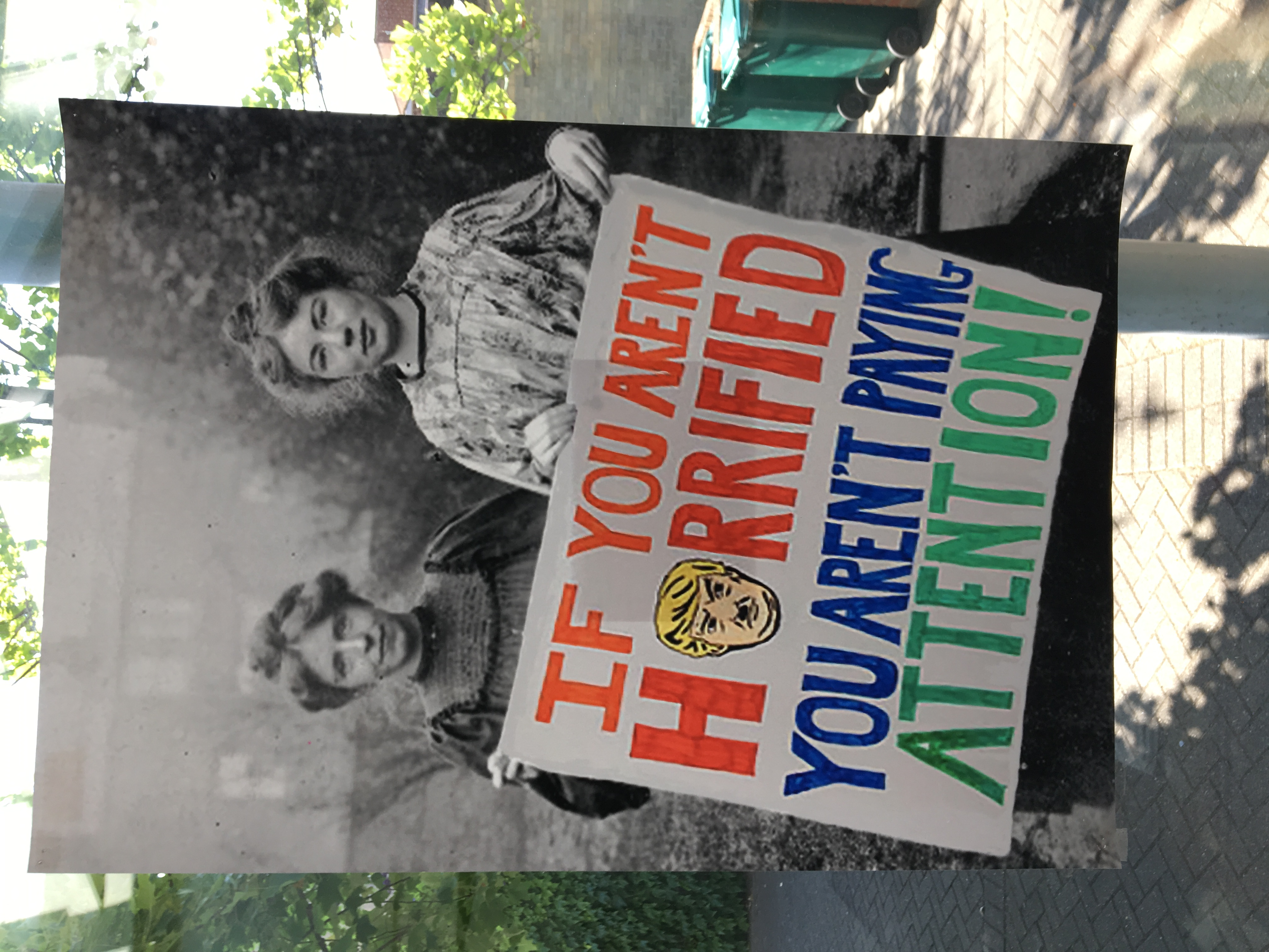 58a. Suffragette Marches, Felicity Beaumont, 40.5 x 59 x 0.1, £ offers