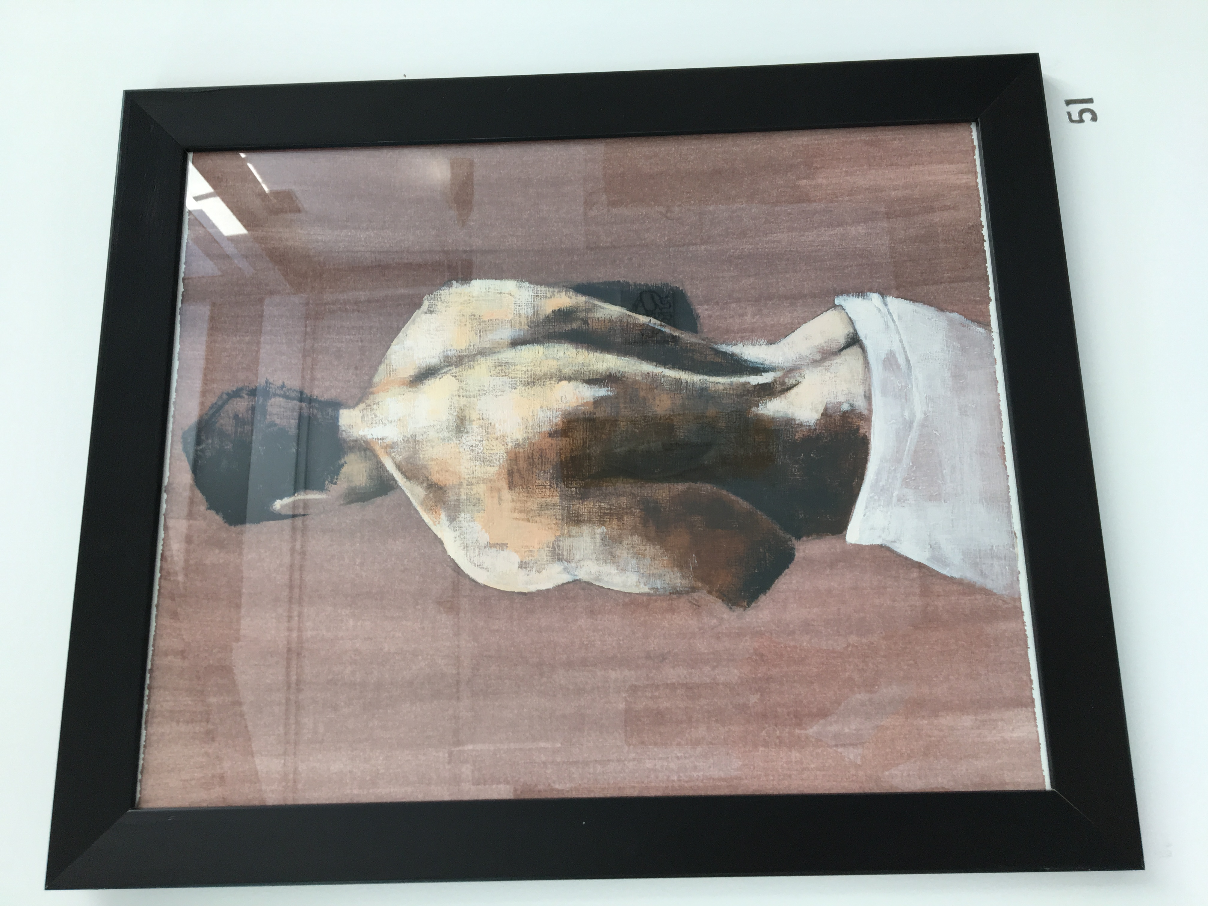 51. Untitled, James Cooper, 48 x 58 x 2, £140