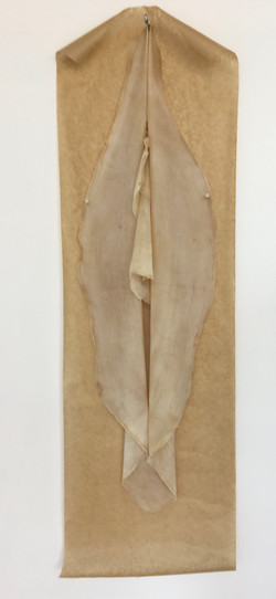 38. Phyllo Vulva, Lorraine M Griffin, 38 x 109 x 9, £120
