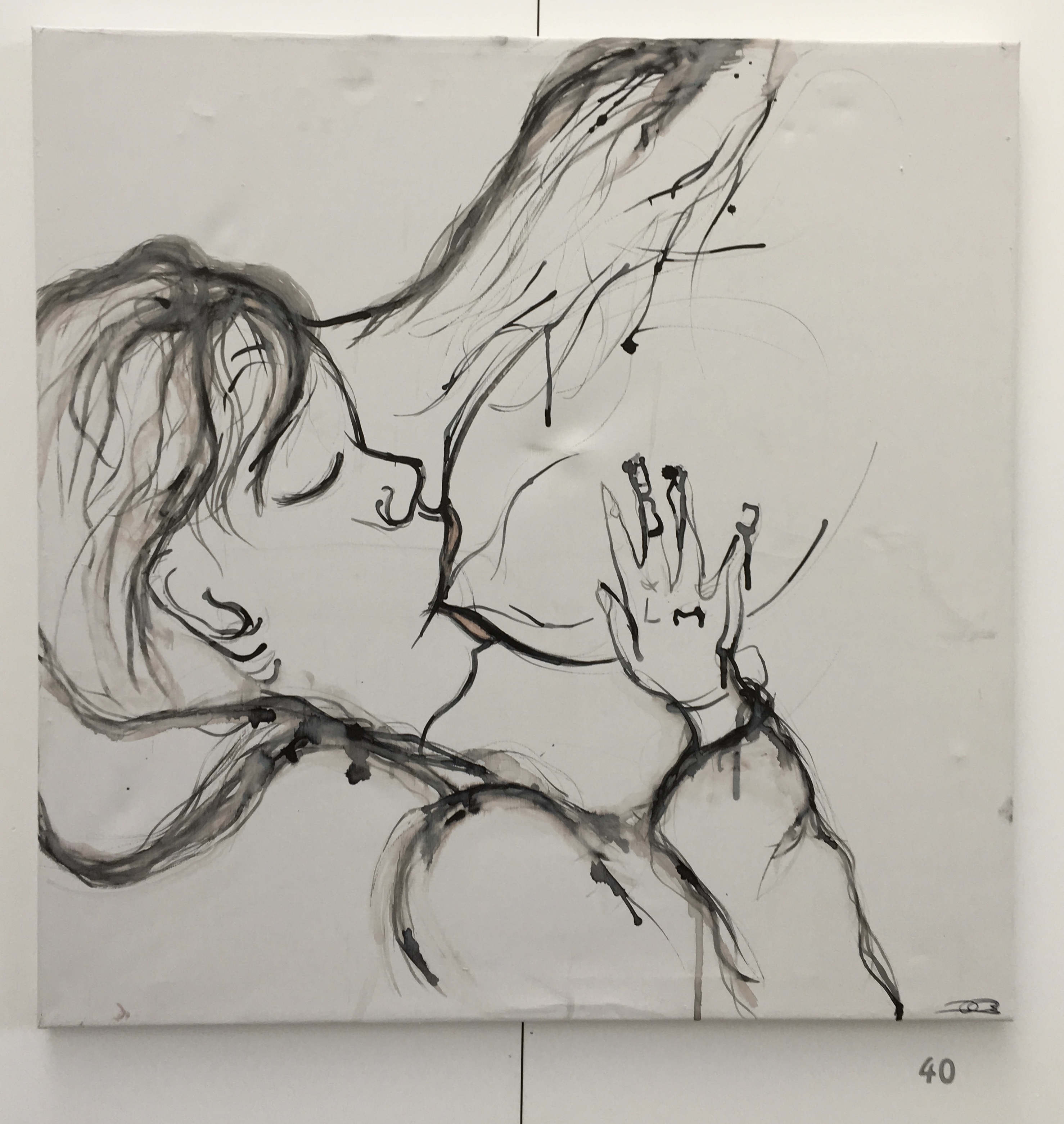 40. Untitled, Billy Jean Croll, 68 x 68 x 2, £ offers