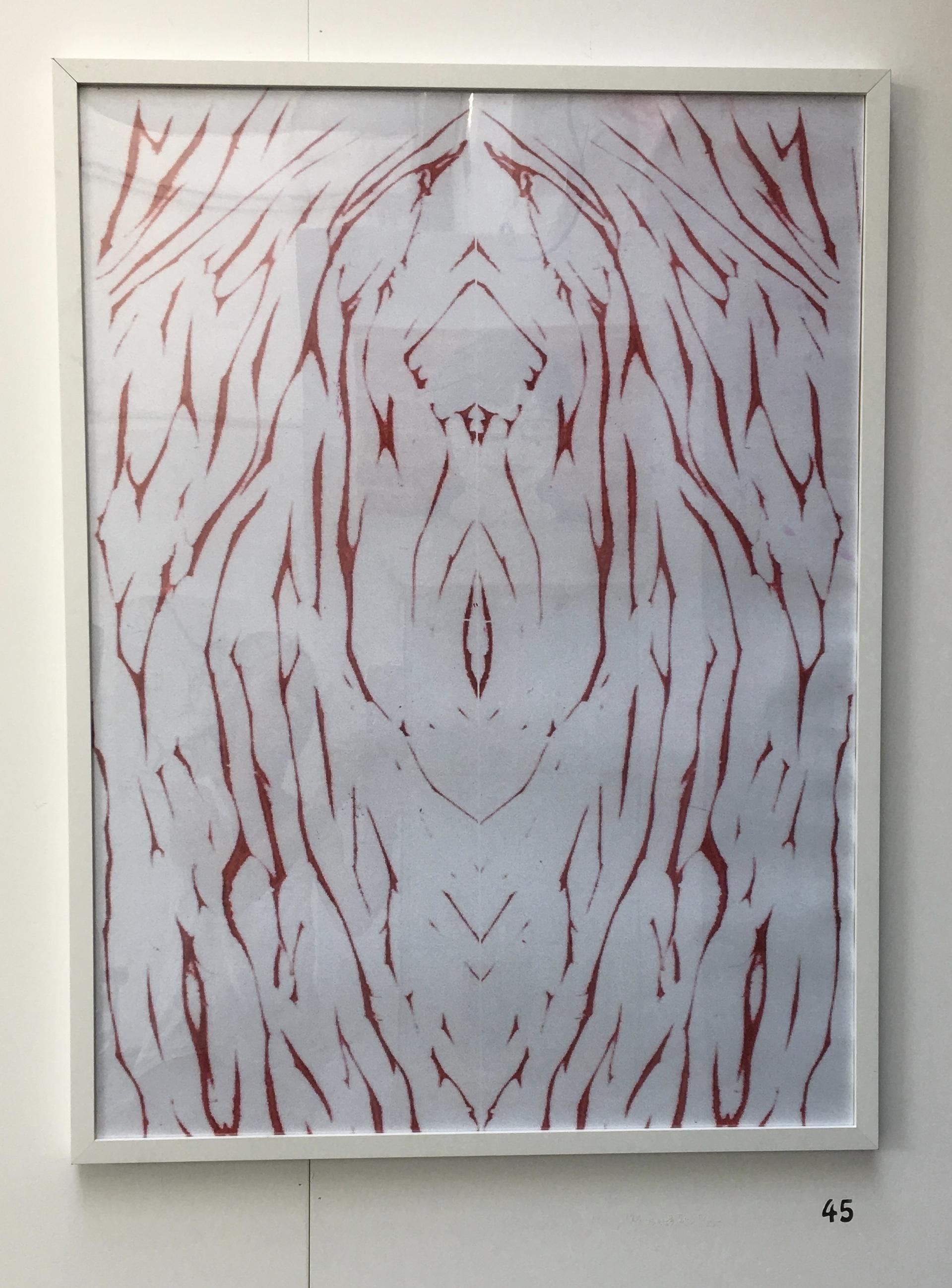 45. Untitled, Elizabeth Pearson, 63 x 82 x 2.5, £60