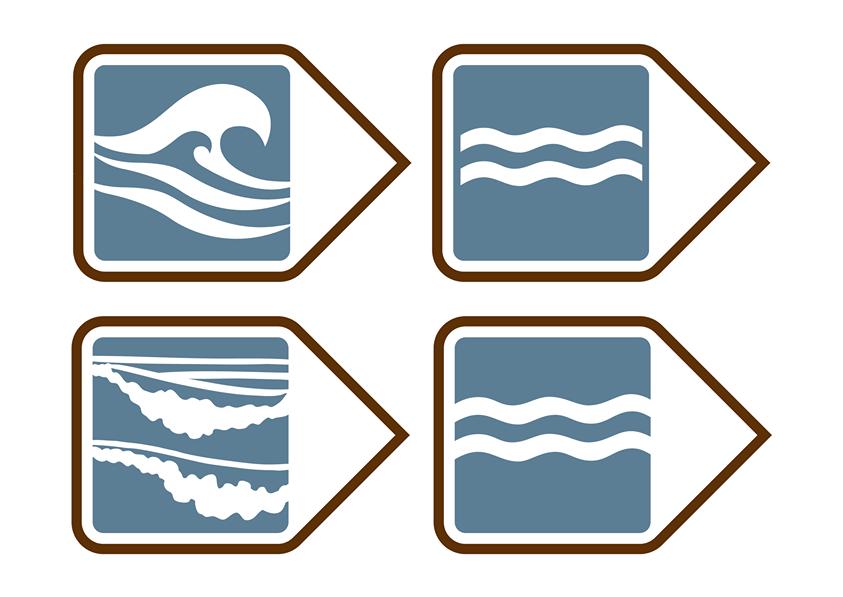 Four design options