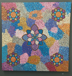 66. Untitled, Shaun Cole, 120 x 120 x 3, £150, SOLD