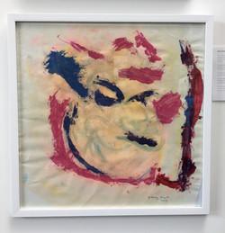 01. Portrait, Justin Rumsby, 53.5 x 53.5 x 2cm