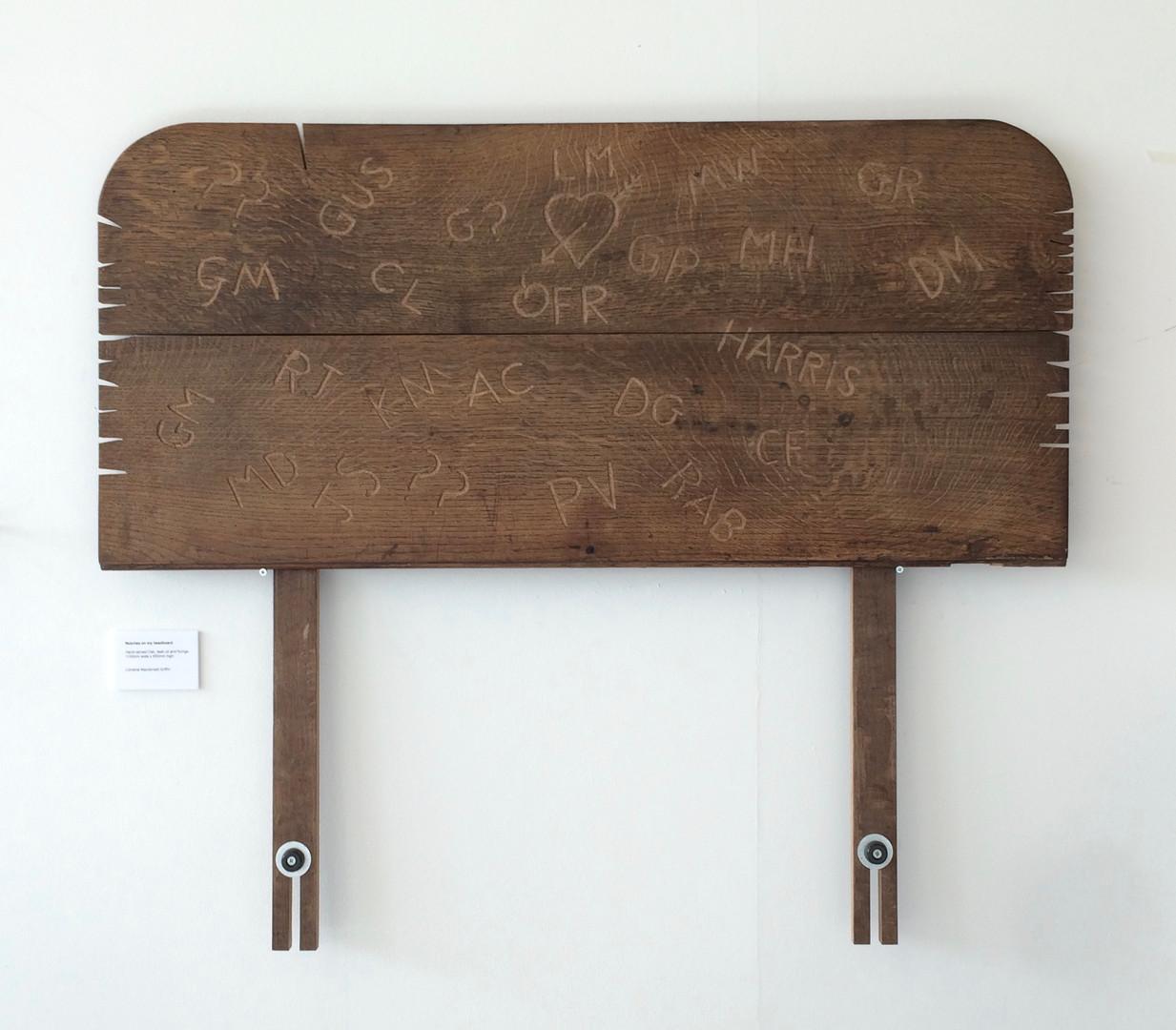 Notches on my Headboard (2014)