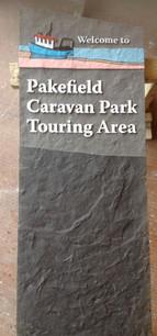 Handpainted sandblasted monolith